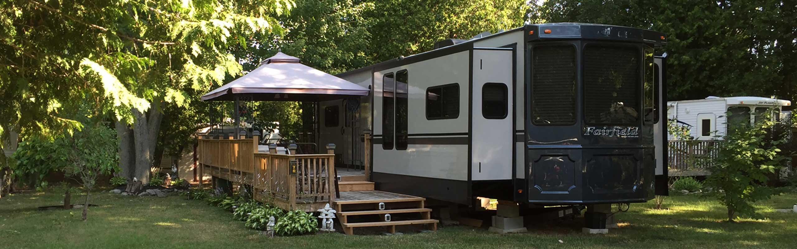 Lake Ontario Seasonal Camping North Shore Rv Park